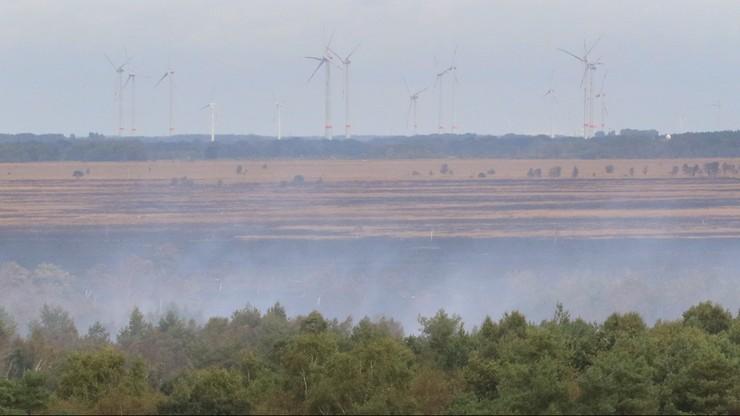 Pożar na poligonie w Niemczech. Minister obrony przeprasza
