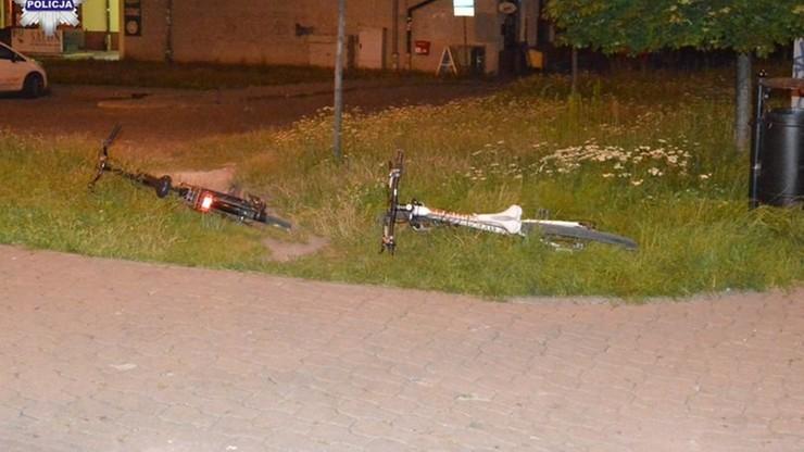 Rowerzystki wjechały na przejście. Potrącił je samochód