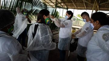 Brazylia: wariant koronawirusa z Amazonii trzykrotnie bardziej zaraźliwy
