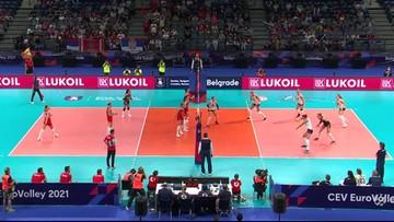 ME siatkarek 2021: Turcja – Holandia 3:0. Ostatnie akcje i radość Turczynek