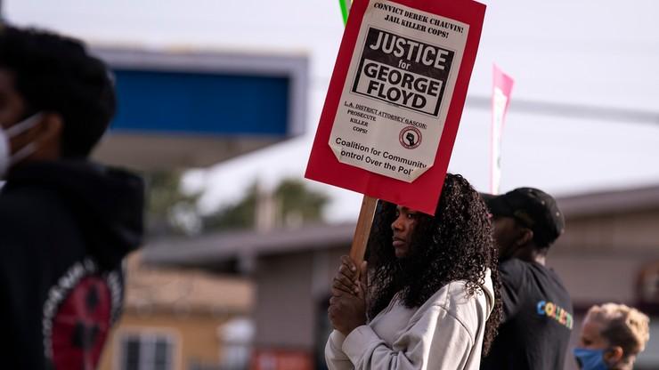Śmierć George'a Floyda. Oskarżony były policjant Derek Chauvin nie chciał zeznawać