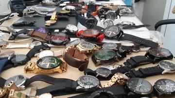 Policja w sklepie z zegarkami. Towar wart ponad milion złotych