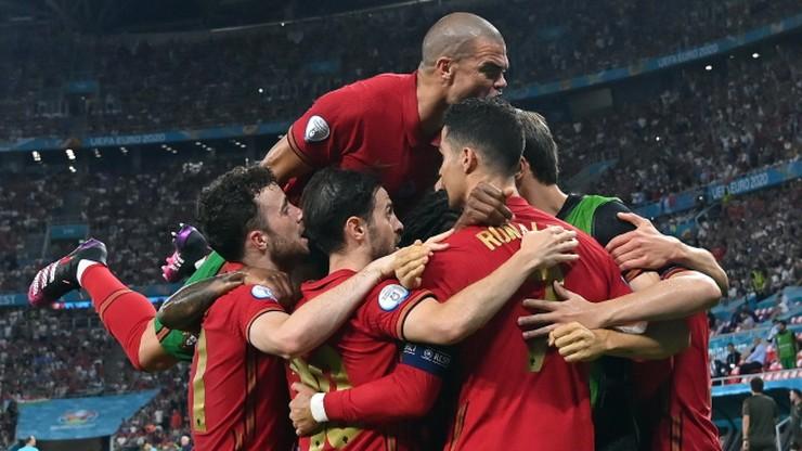 Euro 2020: Portugalia - Francja 1:0. Gol Cristiano Ronaldo