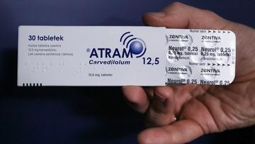 Lek psychotropowy w opakowaniu Atramu. Należy zwrócić go do apteki