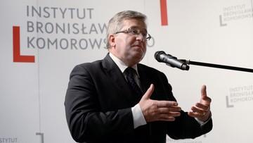 """""""Kompromitacja dla państwa polskiego"""". Komorowski o wypowiedzi Macierewicza o Mistralach"""