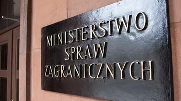 Wiceszef MSZ o śmierci Stefana Michnika: haniebne zaprzeczenie zasadom sprawiedliwości