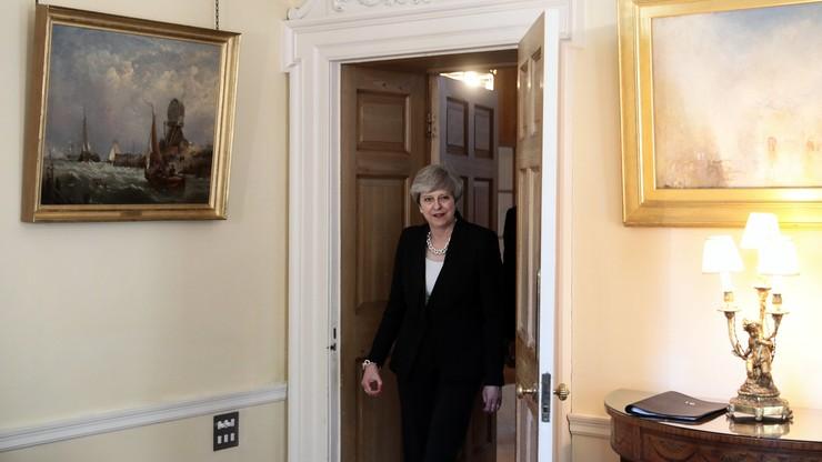 Premier Beata Szydło rozmawiała z premier Theresą May