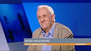 """""""Pojawił się pierwszego dnia, na koparce"""". Prof. Friszke o udziale Wałęsy w wydarzeniach Sierpnia'80"""
