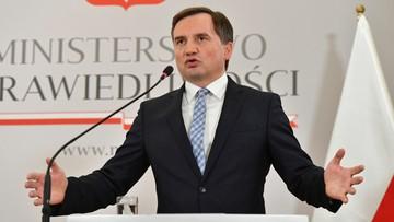 Ziobro o kontroli CBA ws. prezesa NIK: to nie jest wyjątkowa sytuacja
