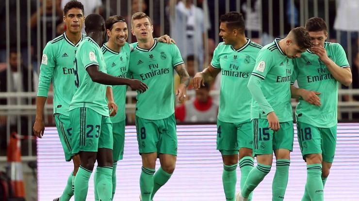 Superpuchar Hiszpanii: Real Madryt w finale po pewnym zwycięstwie