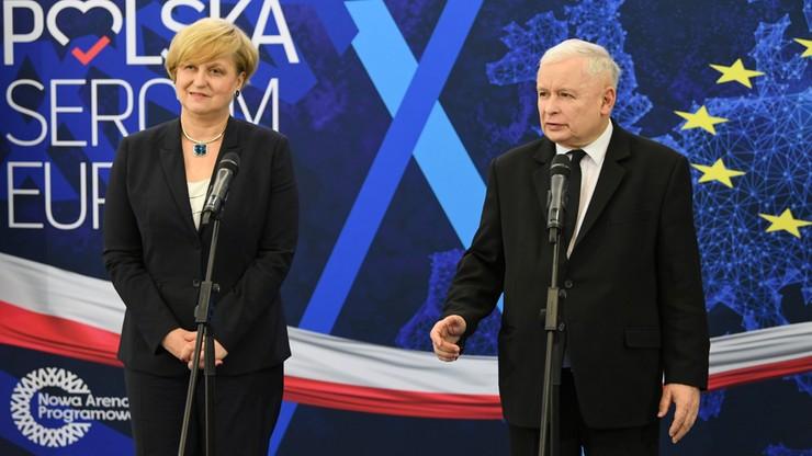 """Kaczyński na konferencji w Gdańsku. """"Czynny kontakt Polski z morzem jest naprawdę bardzo istotny"""""""
