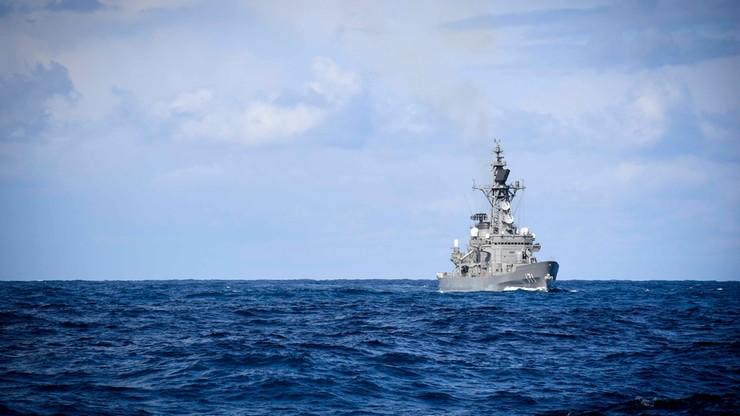 Niszczyciel USA przepłynął koło spornej wyspy na Morzu Południowochińskim
