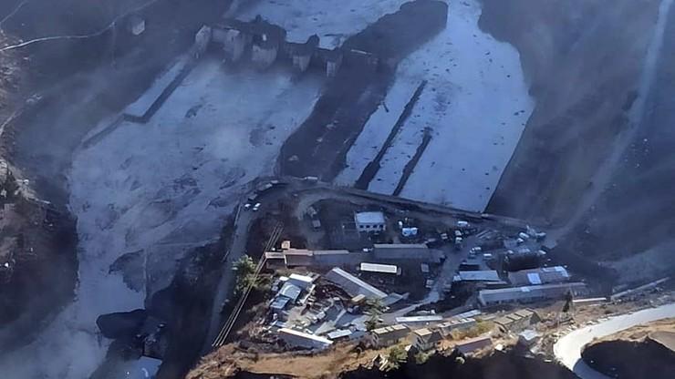 Katastrofa w Indiach. Oderwał się lodowiec, pękła tama. Zaginęło co najmniej 200 osób
