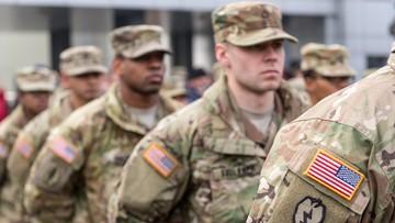W Bolesławcu powitano amerykańskich żołnierzy