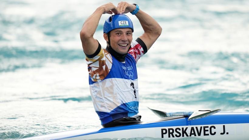 Tokio 2020: Jiri Prskavec mistrzem olimpijskim w kajakarstwie górskim