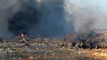 """Ponad 100 ofiar wybuchu w Bejrucie. Trump nazwał go """"atakiem"""""""
