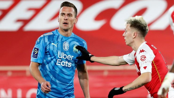 Nieudany debiut Arkadiusza Milika. AS Monaco pokonało Olympique Marsylia w hicie Ligue 1
