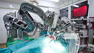 Wkrótce pierwsza operacja z użyciem polskiego robota toru wizyjnego