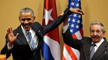 Obama na Kubie: to nowy dzień w relacjach obu krajów