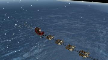 Święty Mikołaj już w drodze. Można śledzić jego trasę