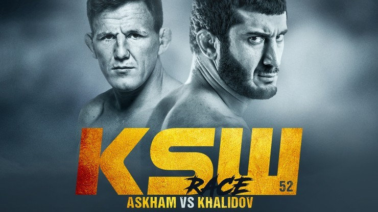 KSW 52: Khalidov - Askham. Transmisja w PPV