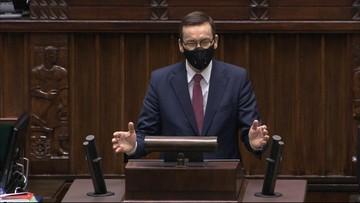 """Premier w Sejmie o budżecie UE. """"To jest gra o suwerenność"""""""