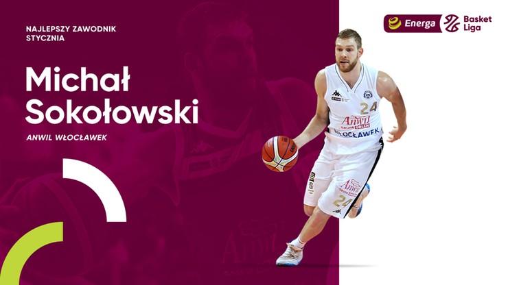 EBL: Sokołowski najlepszym koszykarzem stycznia
