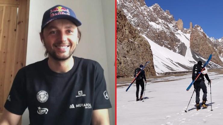 Andrzej Bargiel zdobył szczyt Yawash Sar II. Zjechał z niego na nartach