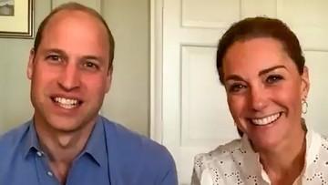 William i Kate pomagali w czasie epidemii. Byli wolontariuszami na infolinii