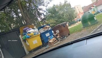 Goleniów zasypany śmieciami. Gmina nie ma pieniędzy