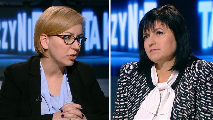 """""""PiS pcha kobiety w głodowe emerytury"""" - Paulina Hennig-Kloska w programie """"Tak czy Nie"""""""