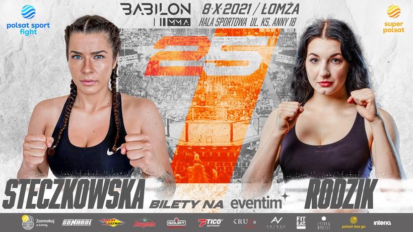 Babilon MMA 25: Zapełnia się karta walk gali w Łomży