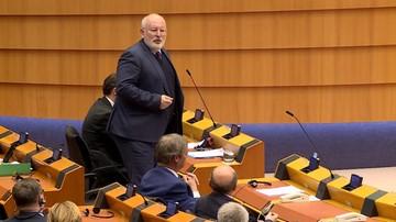 Timmermans poprosił szefa MSZ o specjalne seminarium dla państw UE na temat zmian w polskich sądach
