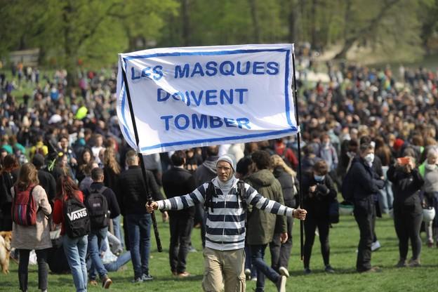 Plenerowa impreza pod Brukselą przerodziła się w starcia z policją