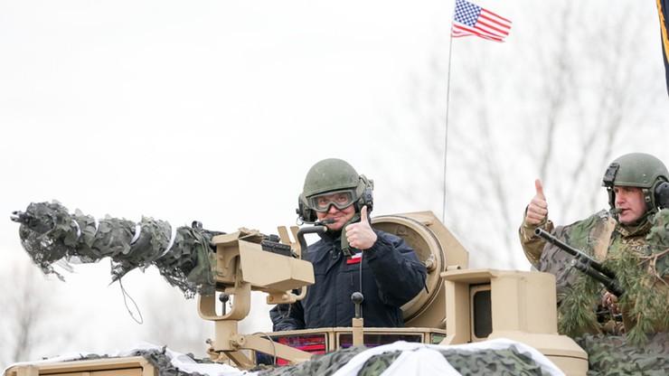 Andrzej Duda w czołgu. Prezydent przetestował wojskowy sprzęt