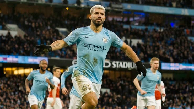 Hat-trick Aguero w hicie! Manchester City nie składa broni w walce o tytuł