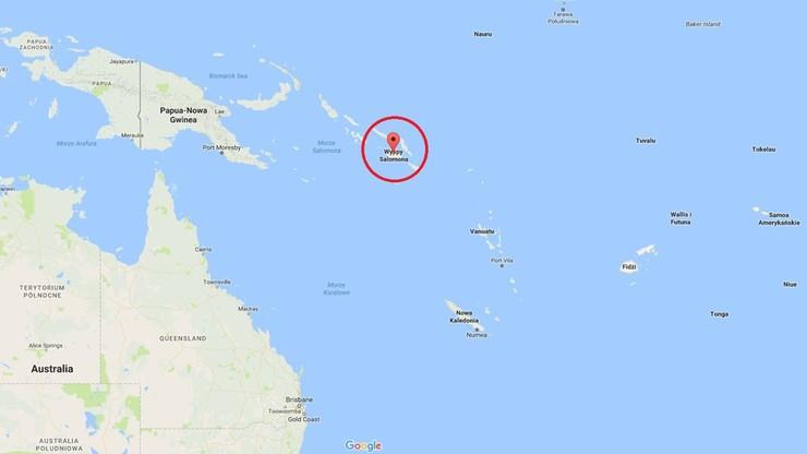 Silne trzęsienie ziemi na Pacyfiku. Epicentrum na Wyspach Salomona