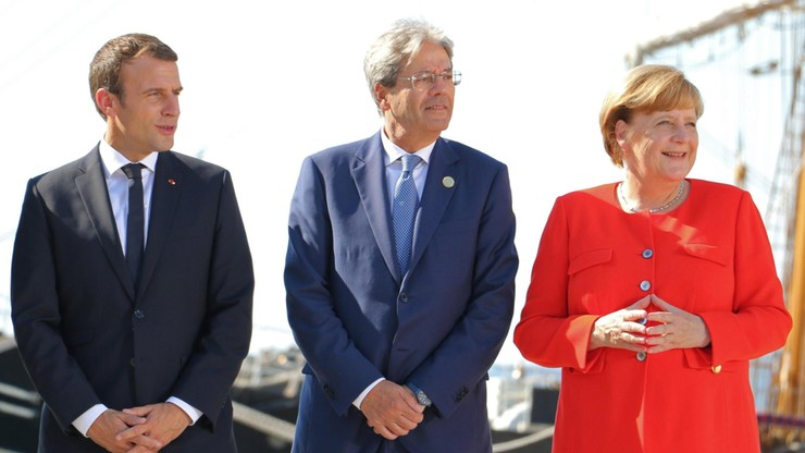 Niemcy i Francja solidaryzują się z Włochami ws. migracji