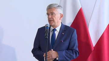 """Karczewski chce referendum ws. konstytucji w trakcie wyborów do europarlamentu. """"Lepsze rozwiązanie"""""""
