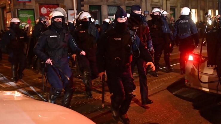 Policja bezprawnie weszła na teren Politechniki Warszawskiej. Odpowiedź rzecznika KSP