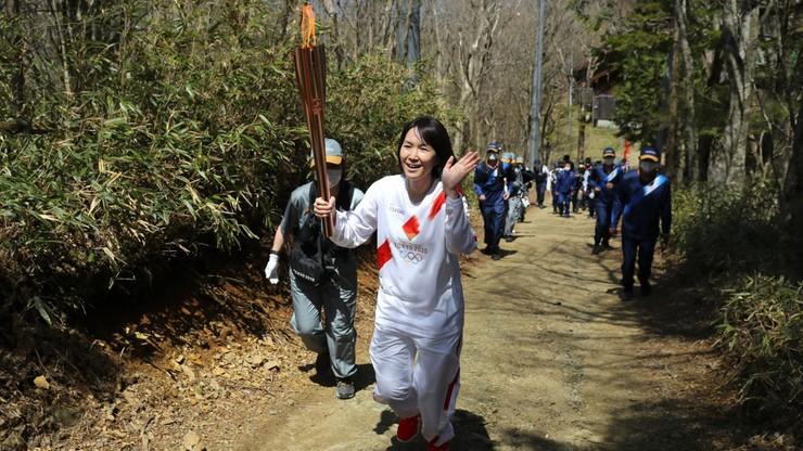 Tokio 2020: Koronawirus na trasie sztafety z ogniem olimpijskim