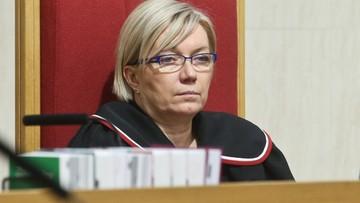 """""""Sprzeczne z zasadą demokratycznego państwa prawa"""" - sędzia Przyłębska w zdaniu odrębnym do wyroku TK"""