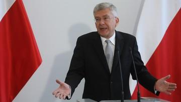 """""""To są kłamstwa!"""". Karczewski o ultimatum dla prezydenta"""