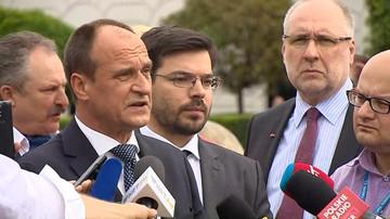 """Kukiz nie wyklucza założenia partii.  Żeby była """"zabezpieczeniem przed tą autorytatywną PiS-owską władzą"""""""