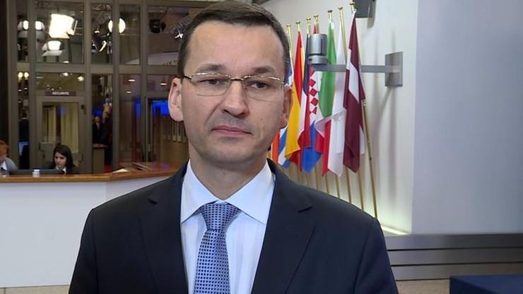 Morawiecki: chciałbym, aby Polska nie zwiększała zadłużenia wobec zagranicy