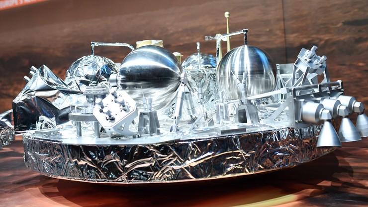 Lądownik Schiaparelli rozbił się o powierzchnię Marsa