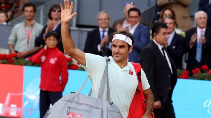 ATP w Madrycie: Porażka Federera w ćwierćfinale