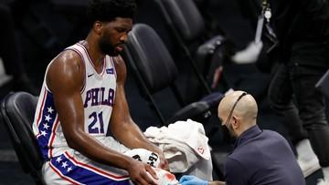 NBA: Philadelphia 76ers wygrali czwarty raz z rzędu, ale stracili lidera