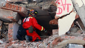 Ekwador: ratownicy wyciągnęli spod gruzów żywego mężczyznę