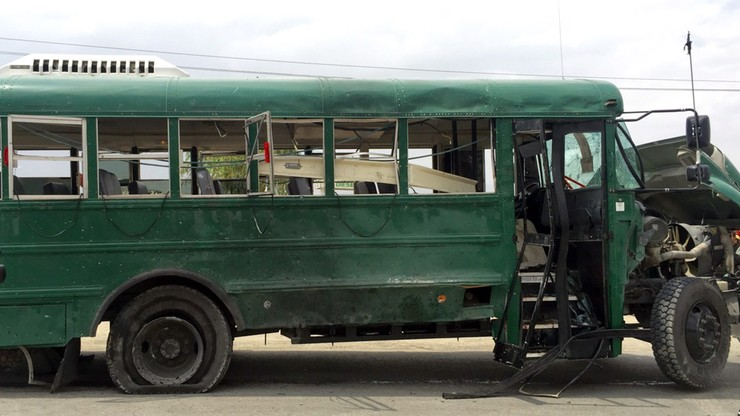 Atak na autobusy wiozące kadetów afgańskiej policji. 27 ofiar